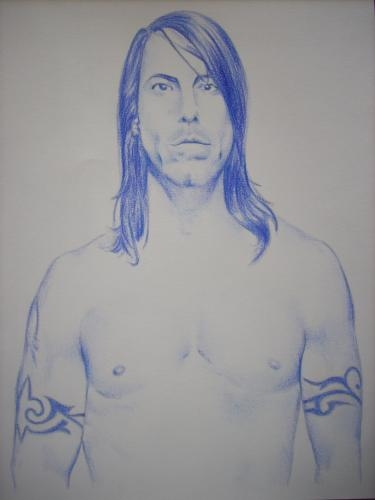 Anthony Kiedis by NickieGuingamp